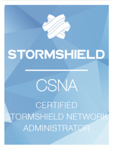Certified Stormshield Network Administrator (CSNA)