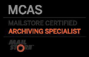 EU Tűzfal - MailStore Certified Archiving Specialist (MCAS)